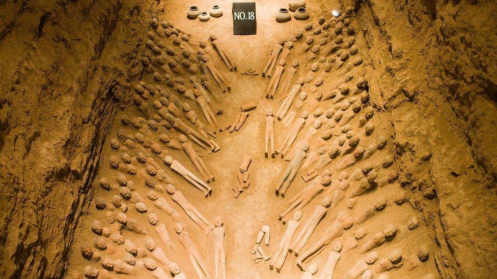 چین میں مقبرہ