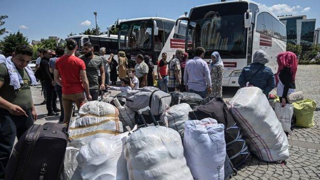 ترکی میں شامی مہاجرین