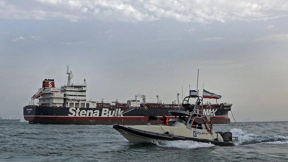 ایرانی پاسدارانِ انقلاب کا گشت
