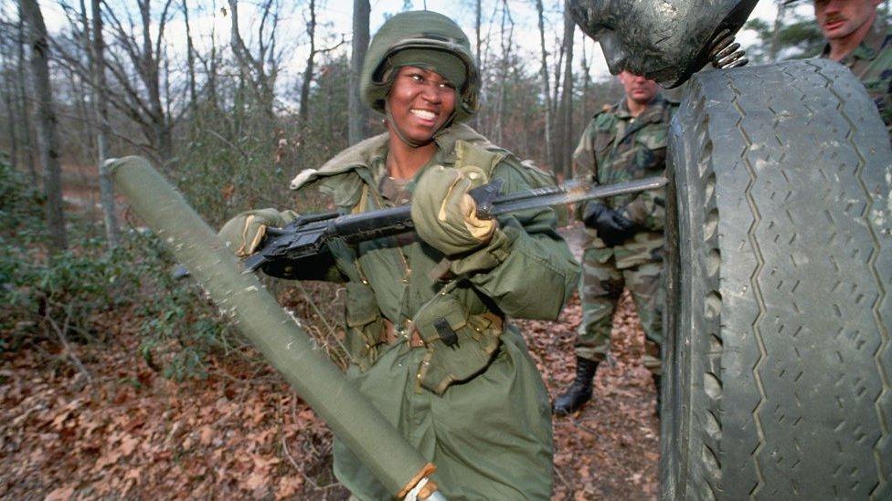 امریکی فوج میں نیزے کا استعمال