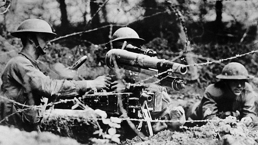 جنگ عظیم اول فوجی