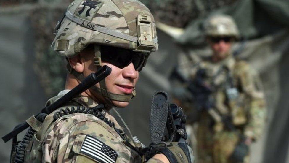 افغانستان میں امریکی افواج