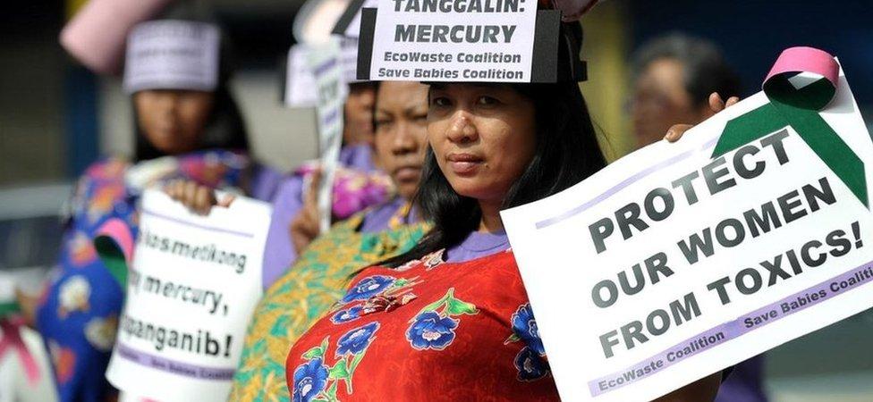 فلپائن میں مظاہرے