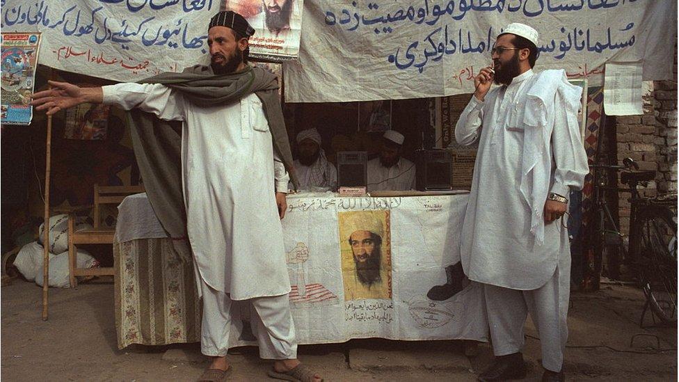اسامہ بن لادن کے چاہنے والے
