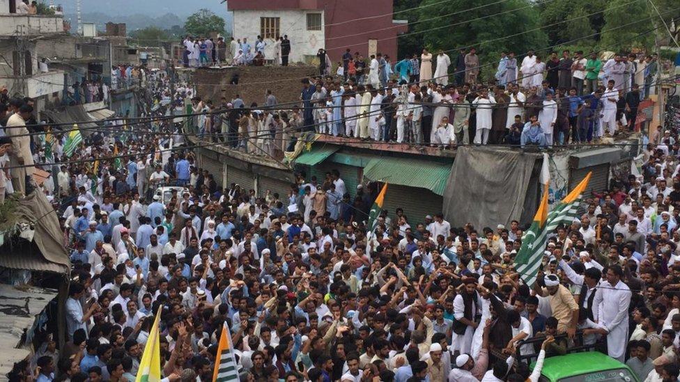 پاکستان کے زیر انتظام کشمیر میں احتجاج