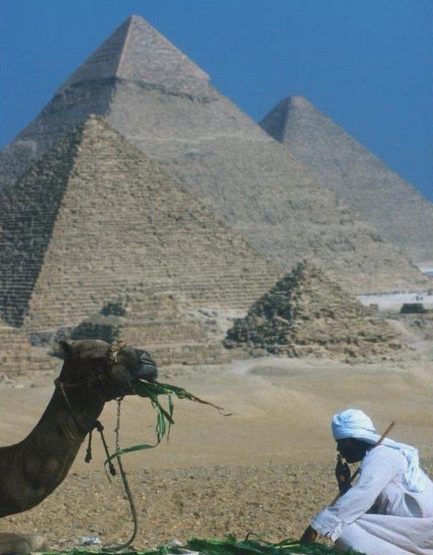 سرخ پارہ اہرام مصر شفا