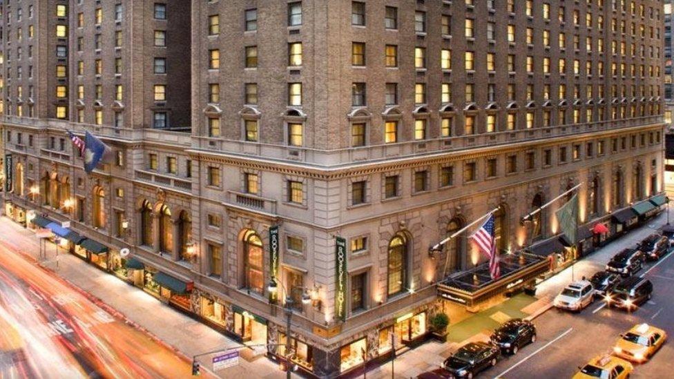 روز ویلٹ ہوٹل نیویارک
