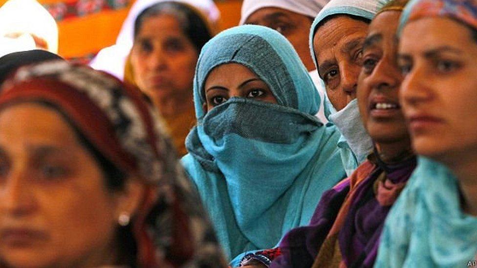 انڈیا میں مسلمان خواتین