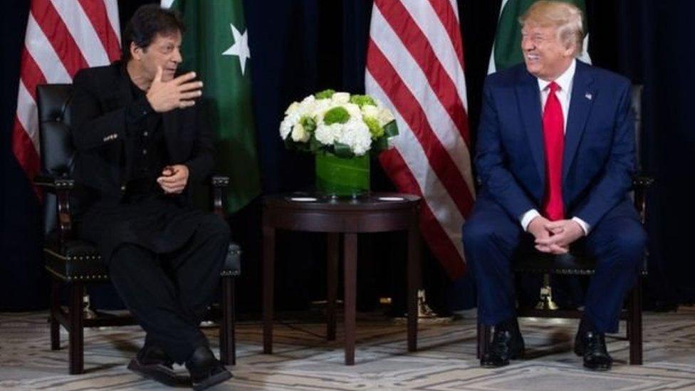 عمران خان اور ڈونلڈ ٹرمپ