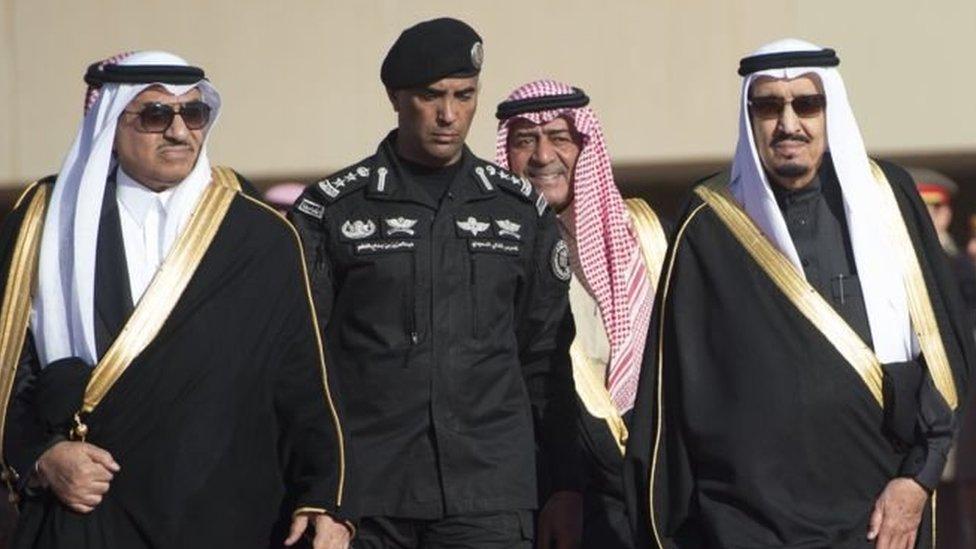میجر جنرل عبدالعزیز الفغم، سعودی عرب، شاہ سلمان