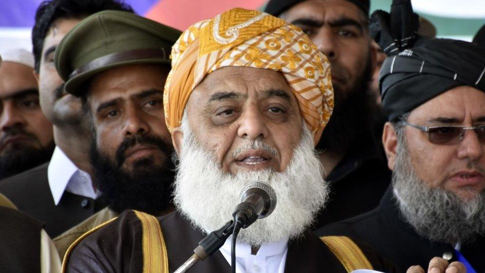 مولانا فضل الرحمان