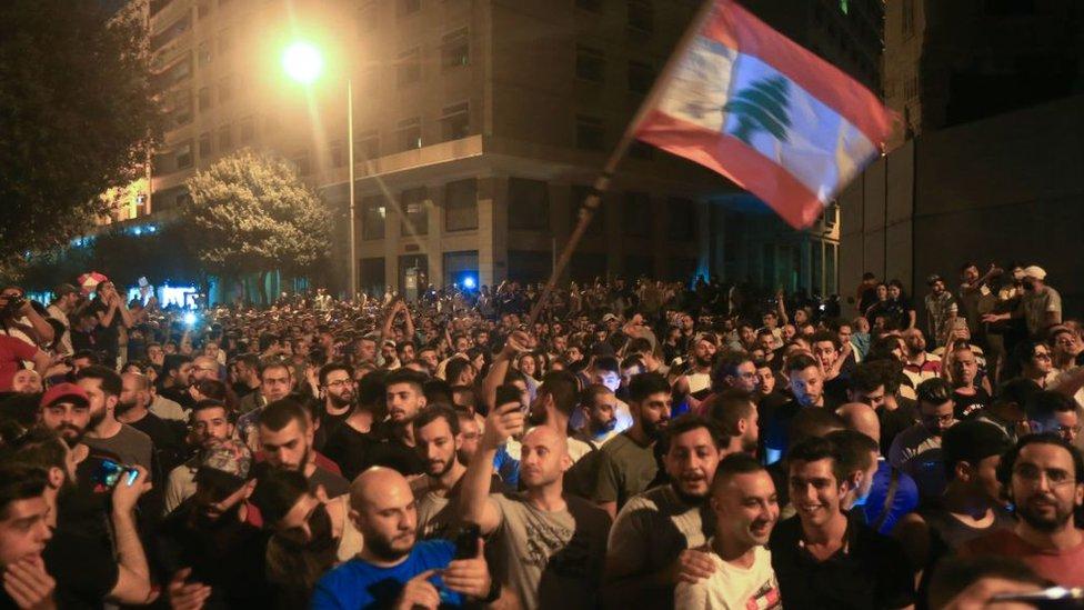 لبنان، لبنان مظاہرے،