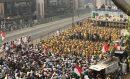 آزادی مارچ تصاویر میں: لاہور میں، اسلام آباد کی تیاریاں