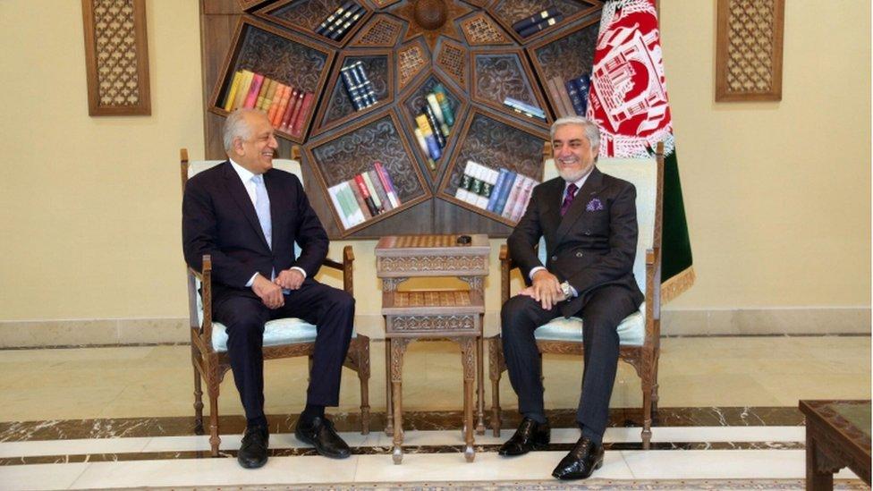 افغان امریکہ تعلقات