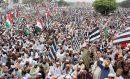 آزادی مارچ: عمران خان کو شکست کا سامنا ہے