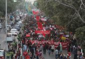 لاہور میں طلباء یکجہتی مارچ کے شرکاء و قیادت پر مقدمہ درج