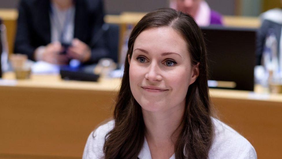 سنا مرین، فن لینڈ، وزیرِ اعظم