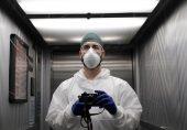 کورونا وائرس: اٹلی کے انتہائی متاثرہ شہر کے ہسپتال میں نرس نے بحرانی صورتحال کو اپنے کیمرے کی آنکھ میں کیسے محفوظ کیا؟