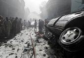 کراچی طیارہ حادثہ: عینی شاہدین نے کیا دیکھا، تصاویر میں