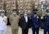 کورونا وائرس: پاکستان فوج کی جانب سے امریکی فوج کو بھیجے گئے طبی حفاظتی سامان پر سوشل میڈیا پر شدید ردعمل