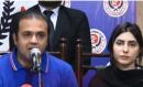 عظمیٰ خان اور وکیل کی پریس کانفرنس:'عظمی خان کی جان کو خطرات لاحق ہیں، سکیورٹی فراہم کی جائے'