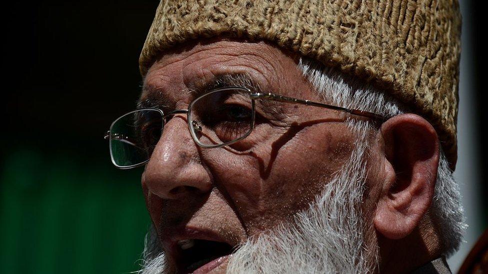 سید علی گیلانی