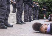 جارج فلائیڈ کی ہلاکت: امریکہ کے کئی شہروں میں کرفیو کے باوجود مظاہرے، صدر ٹرمپ کی فوج بلانے کی دھمکی
