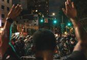 جارج فلائیڈ کی ہلاکت: امریکہ میں مسلسل آٹھویں رات مظاہرے جاری، 40 شہروں میں کرفیو نافذ