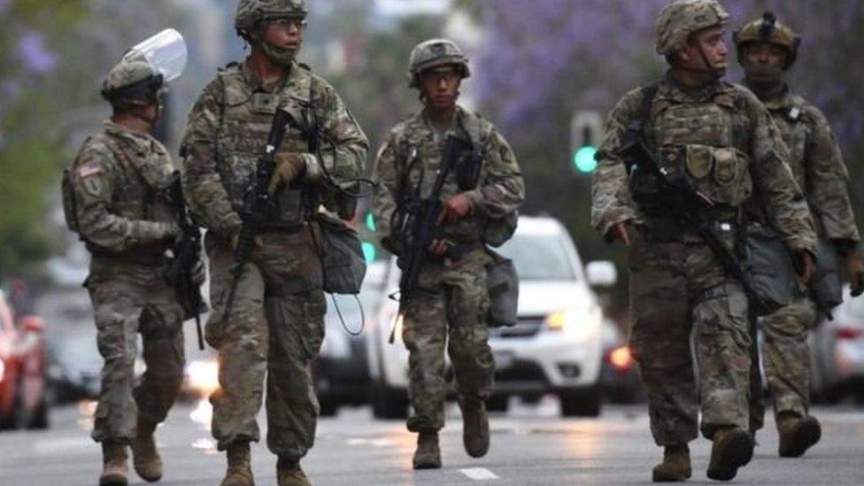 امریکی افواج