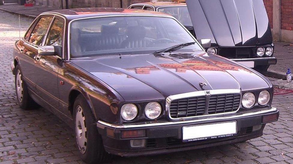 Jaguar XJR6 belonging to suspect in Madeleine McCann case