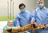 کورونا وائرس: سکاٹ لینڈ کے پائلٹ نے ویتنام کے ہسپتال میں وینٹیلیٹر پر 68 دن کیسے گزارے؟