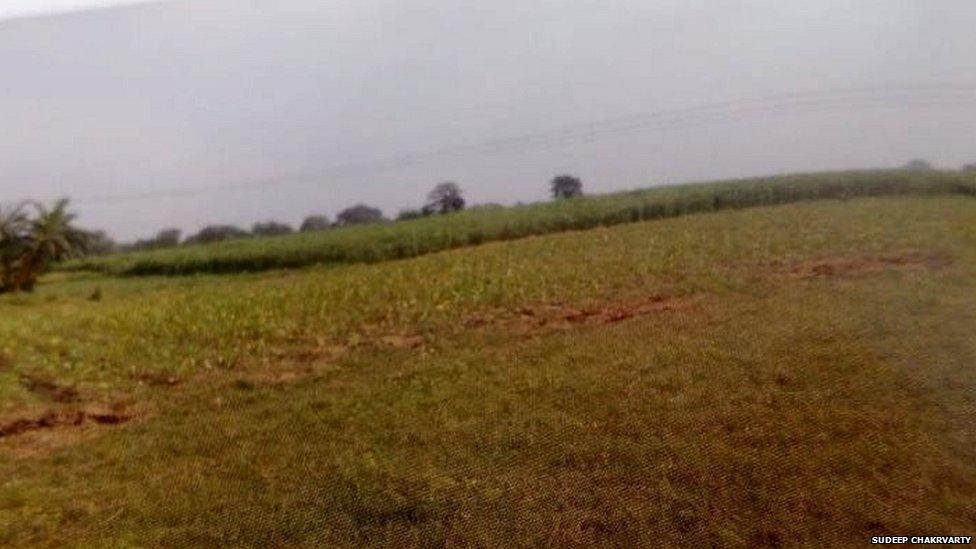 آج کے دور میں وہ میدان جہاں پلاسی کی جنگ ہوئی تھی۔