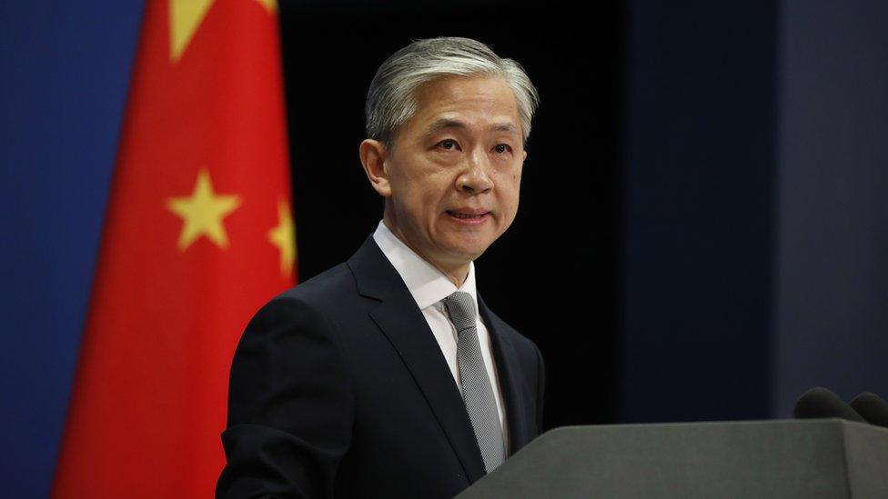 چینی وزارت خارجہ کے ترجمان