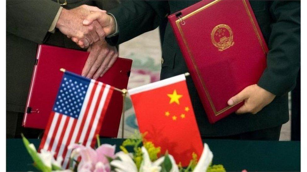 چین، امریکہ
