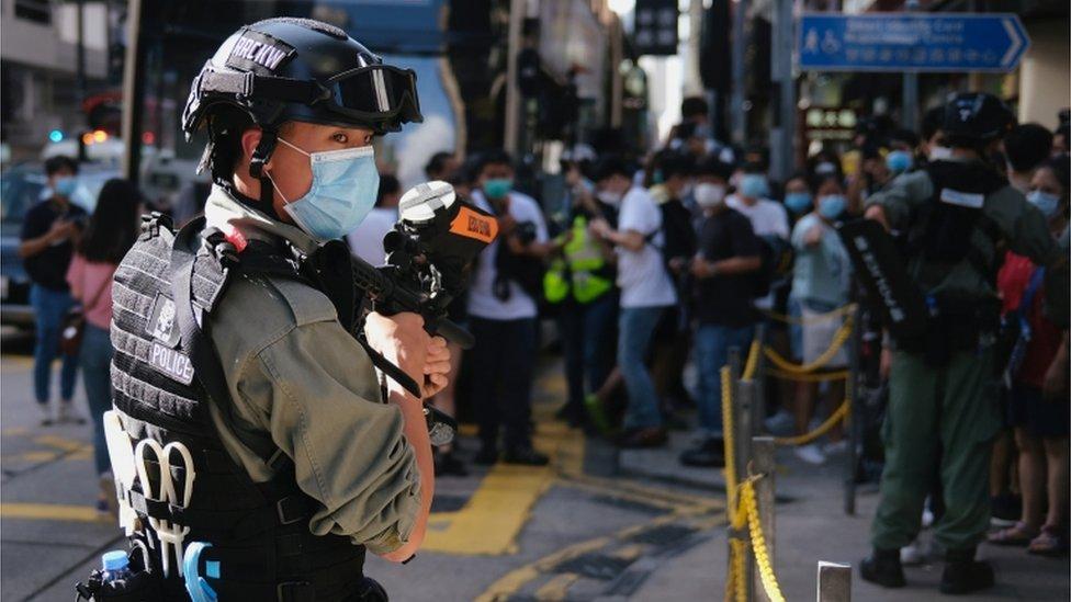 ہانگ کانگ مظاہرے