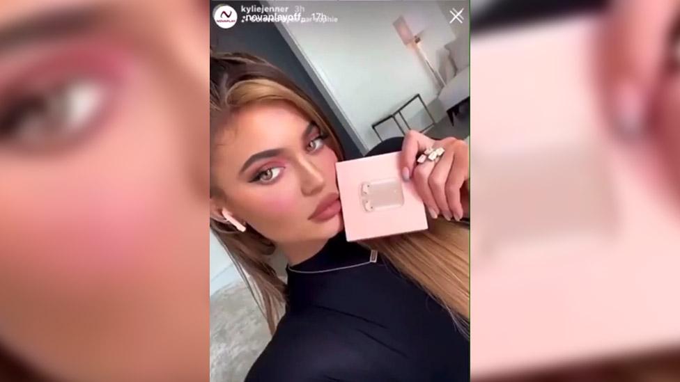 Kylie Jenner promotion