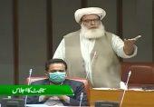 18ویں ترمیم: سینیٹ کے اجلاس میں کسی کا نام لیے بغیر سینیٹر مولانا عطاالرحمان کی تند و تیز تقریر