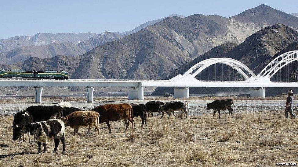 تبت کا سرحدی علاقہ