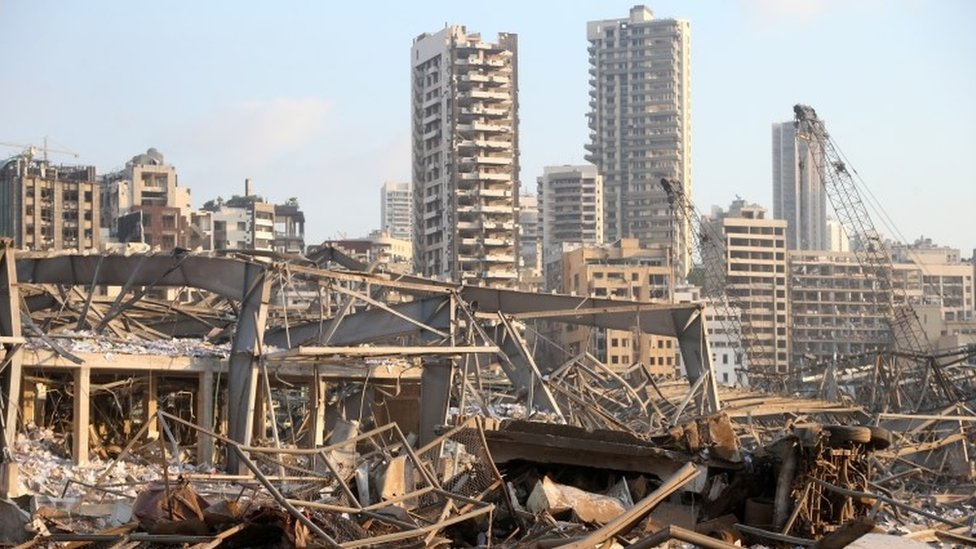Beirut after the explosion