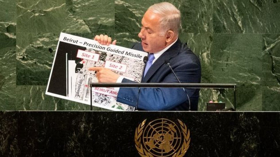 اسرائیلی وزیر اعظم نیتن یاہو
