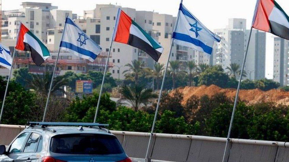 اسرائیل امارات