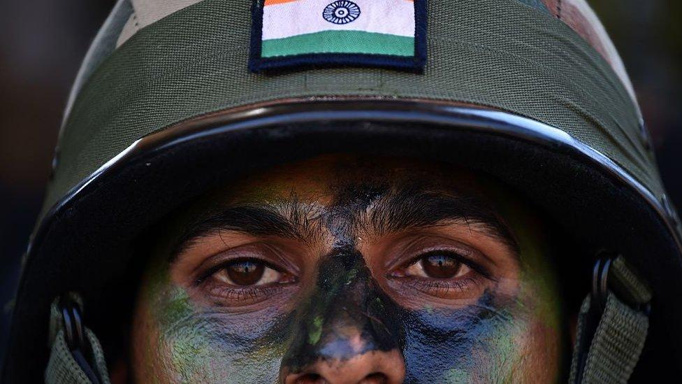 भारत चीन सेना