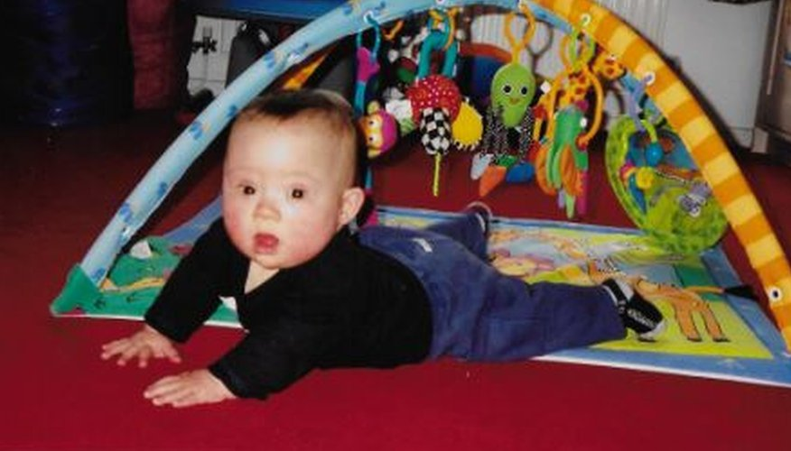 Tom as a baby