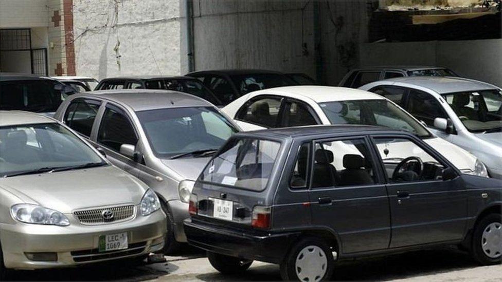 استعمال شدہ گاڑی