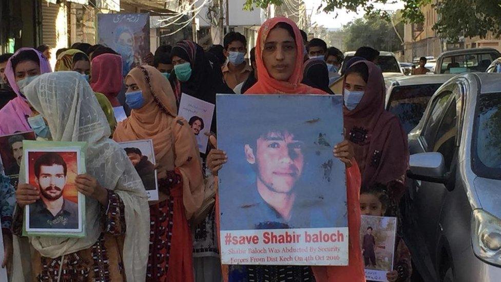 شبیر بلوچ، بلوچستان کے لاپتہ افراد