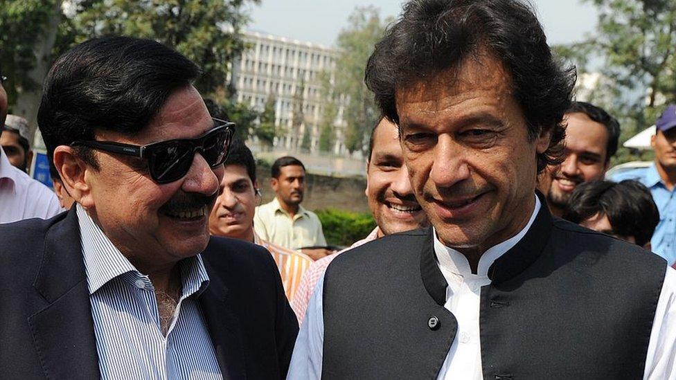 شیخ رشید اور عمران خان