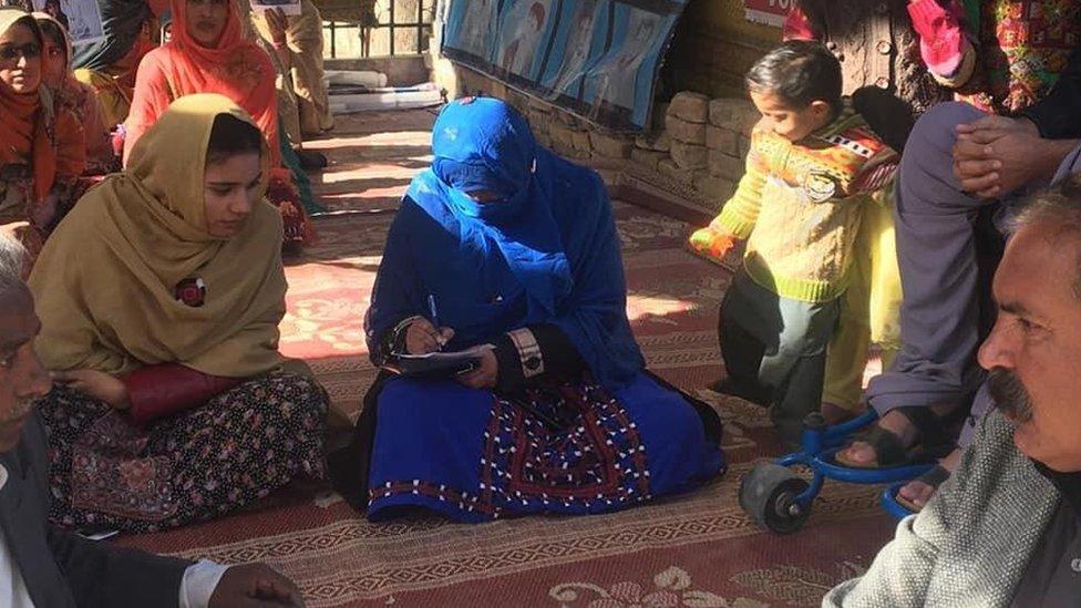 طیبہ بلوچ، لاپتہ افراد، بلوچستان، مسنگ پرسنز، جبری گمشدگی، حنیف چمروک