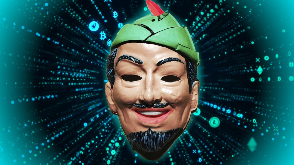 robin hood hacker imagery