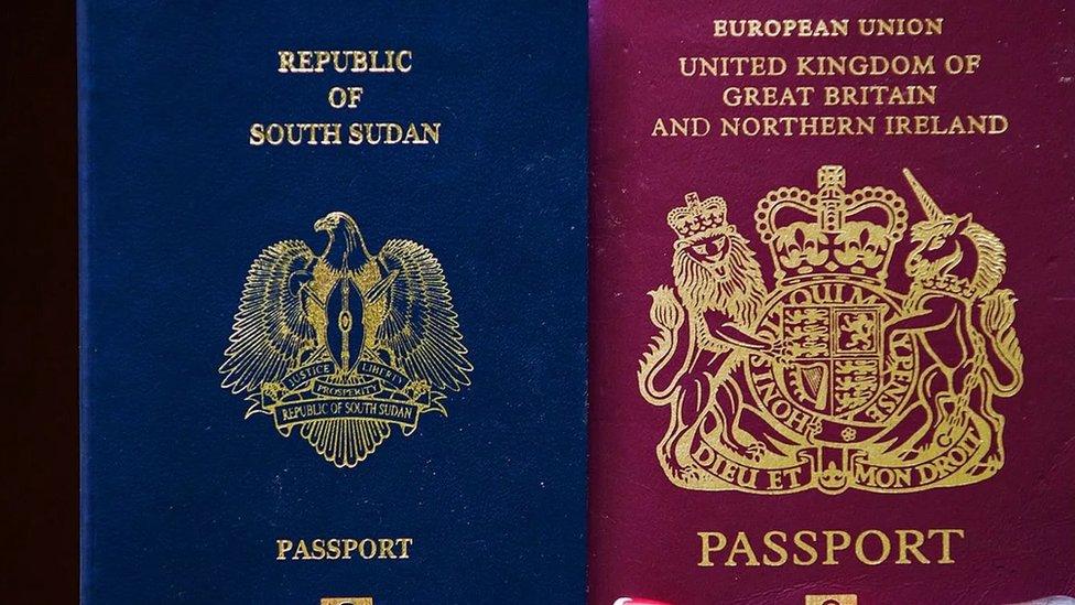 پاسپورٹ کی دستاویز