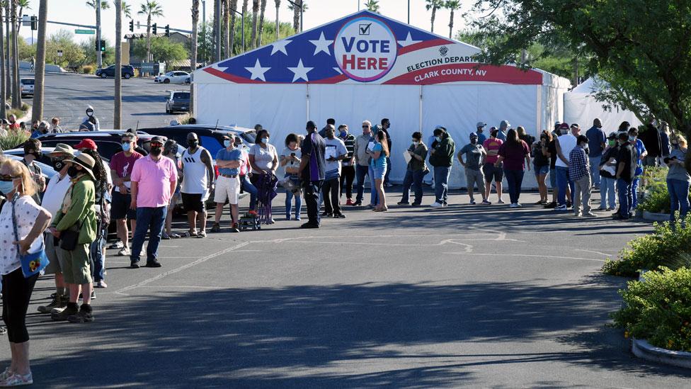 Long queues in Nevada